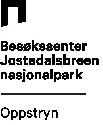 Logo Jostedalsbreen Nasjonalparksenter